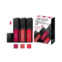 Revlon Lipgloss 3er Set COLOURSTAY STAIN