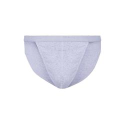 Skiny Slip Herren Tanga-Slip - Cotton Rib, Unterhose, grau L