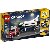 Lego Creator 3in1 Transporter für Space Shuttle 31091