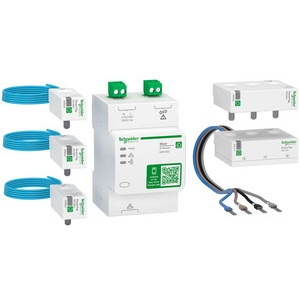 Schneider Electric WE3800 Basis Kit Wiser IP Gateway 5 PowerTag Wiser ...