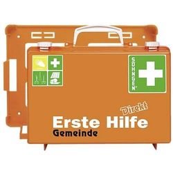 Erste-Hilfe-Koffer Direkt Gemeinde orange