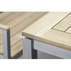 Stern Tischplatte Teak FSC®-zertifiziert 90x90 cm