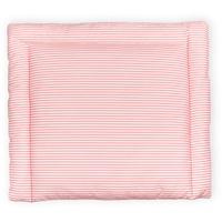 KraftKids Wickelauflage Streifen rosa, Wickelunterlage 85x75 cm (BxT), Wickelkissen