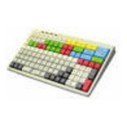 MCI 128 - Programmierbare Kassentastatur, bestückt mit 1er Tasten, USB, weiss
