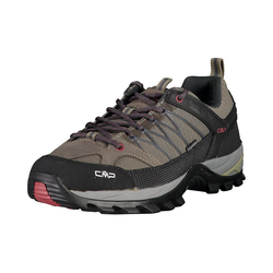 CMP RIGEL LOW TREKKING SHOES WP Wanderschuhe Trekkingschuh grau 43