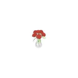 HCM KINZEL 3D-Puzzle Crystal Puzzle - Rote Rosen, Puzzleteile