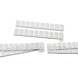 Auhagen 80200 H0 Fenster Weiß Kunststoffbausatz
