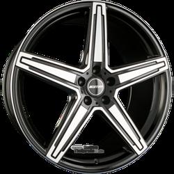 Alufelge GMP Italia Italia MK1 Einteilig Black Diamond 9.50 x 21 ET 49.00 5x120.00