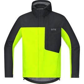 GORE WEAR C3 Gore-Tex Paclite Kapuzenjacke neon yellow/black S