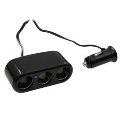AIV Zigarettenanzünder-Verteiler 3-Fach 10A Audio- & Video-Kabel, Zigarettenanzünder, Zigarettenanzünder, Steckdosen-Adapter Doppel-Steckdose