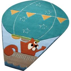 Kinderteppich Balloon, Esprit, oval, Höhe 10 mm