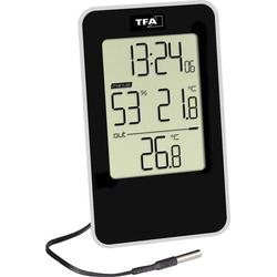 TFA Dostmann Thermo-/Hygrometer Schwarz