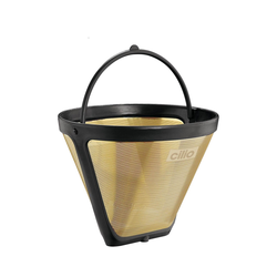CILIO Dauerfilter GOLD Kaffeefilter Größe 1x2