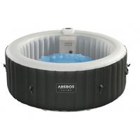 Arebos Spa Pool Wellness Massage aufblasbar rund mit LED - direkt vom Hersteller