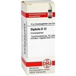 DIGITALIS D 12 Globuli 10 g