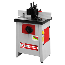 Holzmann Fräsmaschine Tischfräsmaschine FS160SOLID 230V Wechselspindel 12mm Zange