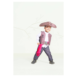 Halloween Toddler Boys' Pirate Captain Costume with Tricorn Hat 2T-3T - Hyde & EEK! Boutique , Toddler Boy's