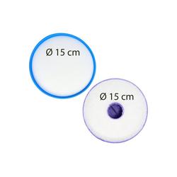 AccuCell Staubsaugerrohr 2x Staubsaugerfilter für Staubsauger wie Dyson 900