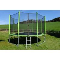 Stamm Sports Gartentrampolin 427 cm grün