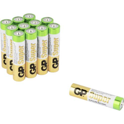 GP Batteries Super 8+4 Micro (AAA)-Batterie Alkali-Mangan 1.5V 12St.