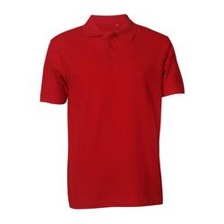Poloshirt Basic rot