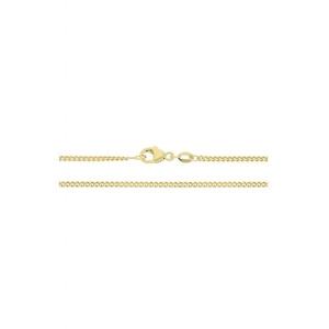JuwelmaLux Panzerkette Halskette Gold Panzerkette 50 cm (1-tlg), Damen und Herren Halskette Gold 585/000, inkl. Schmuckschachtel