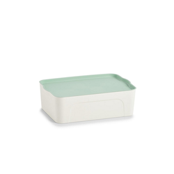 HTI-Living Aufbewahrungsbox Aufbewahrungsbox mit Deckel, Aufbewahrungsbox 30 cm x 14 cm