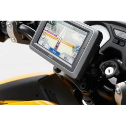 SW-Motech BMW R/ Honda CB/ Honda N/ Suzuki GS Navi-Halter für Lenker (Schwarz), schwarz