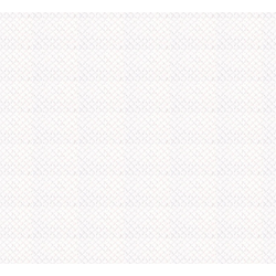 WOW Papiertapete Gewebe Emboss, (1 St), Weiß - 10m x 52cm