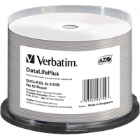 Verbatim DVD+R 8,5GB 8x 50er Spindel