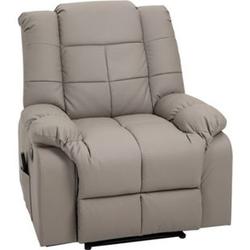 HOMCOM Massagesessel mit Wärme- und Liegefunktion 90 x 97 x 99 cm (BxTxH)   Fernsehsessel TV Sessel Relaxsessel Sessel