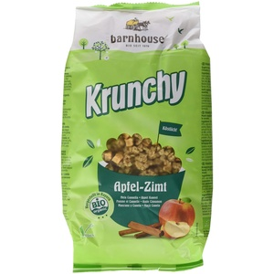 Barnhouse Krunchy Apfel-Zimt, 750 g