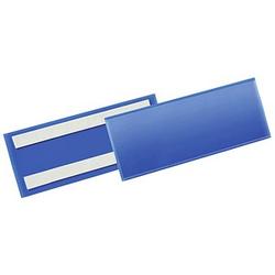 50 DURABLE Etikettentaschen blau