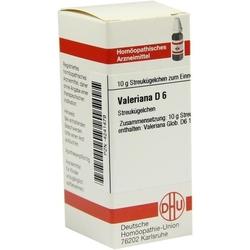 VALERIANA D 6 Globuli 10 g