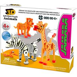 Jamara Steckpuzzle JAMARA Kids, Animals, 350 Puzzleteile