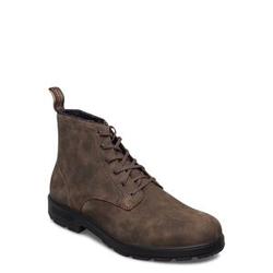 Blundstone Bl Lace Up Leather Boot Schnürstiefel Braun BLUNDST Braun 43,41,42,44,45,40,46,47