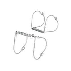 Metaltex Rouladenklammern, Rouladenhalter aus hochwertigem Inox-Edelstahl, 1 Packung = 4 Stück, 6 x 7 cm