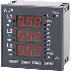 Lumel N14 22008 Programmierbares 3-Phasen Multimeter