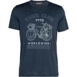 Icebreaker - M Tech Lite SS Crewe - T-Shirts - Größe: M