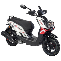 GT UNION Motorroller PX 55 Cross-Concept, 50 ccm, 45 km/h, Euro 4