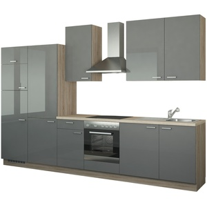 Küchenzeile mit Elektrogeräten  Duisburg ¦ weiß