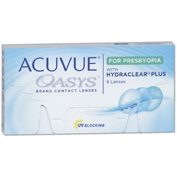 Acuvue Oasys for PRESBYOPIA 6er Box Addition LOW (ADD +0,75 bis +1,25)