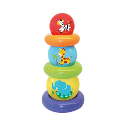 GOWI Stapelspielzeug Ballpyramide, 6-tlg. bunt