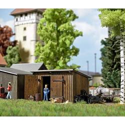 Busch 1594 H0 Holzschuppen Bausatz