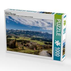 Erlebnis Oberallgäu Lege-Größe 64 x 48 cm Foto-Puzzle Bild von TomKli Puzzle