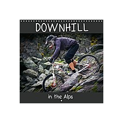 Downhill in the Alps (Wall Calendar 2021 300 × 300 mm Square)
