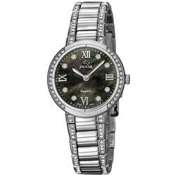 Jaguar Cosmopolitan J826/2 Damenarmbanduhr Mit Kristallsteinen