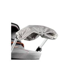 ONVAYA Kinderwagen-Handwärmer Kinderwagenmuff, Kinderwagen Handwärmer in grau oder Schwarz, Warme Handschuhe für den Kinderwagen grau