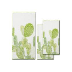 Dyckhoff Handtuch Set Green Paradise Cactus (Set, 3-tlg), mit Kakteenmotiven