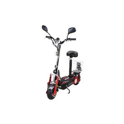 eFlux Street 40 800 Watt E-Scooter Elektroroller mit Korb und Straßenzulassung schwarz